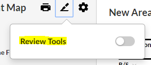 How to enable Review Tools.